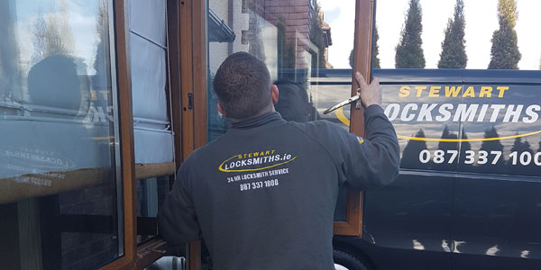professional locksmith also repairs UPVC windows